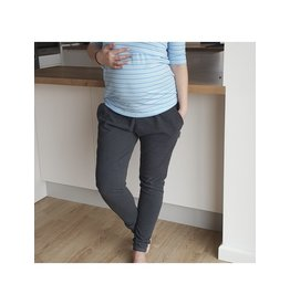 Maternity Trousers Graphite