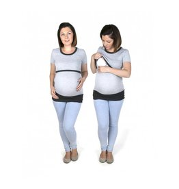Alex T-Shirt Short Sleeves Gray Graphite