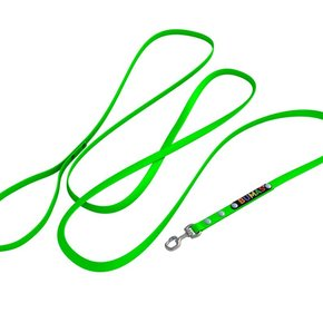 BUMAS leash neon green
