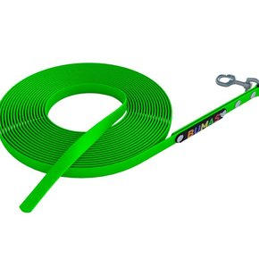 BUMAS tracking leash neon green