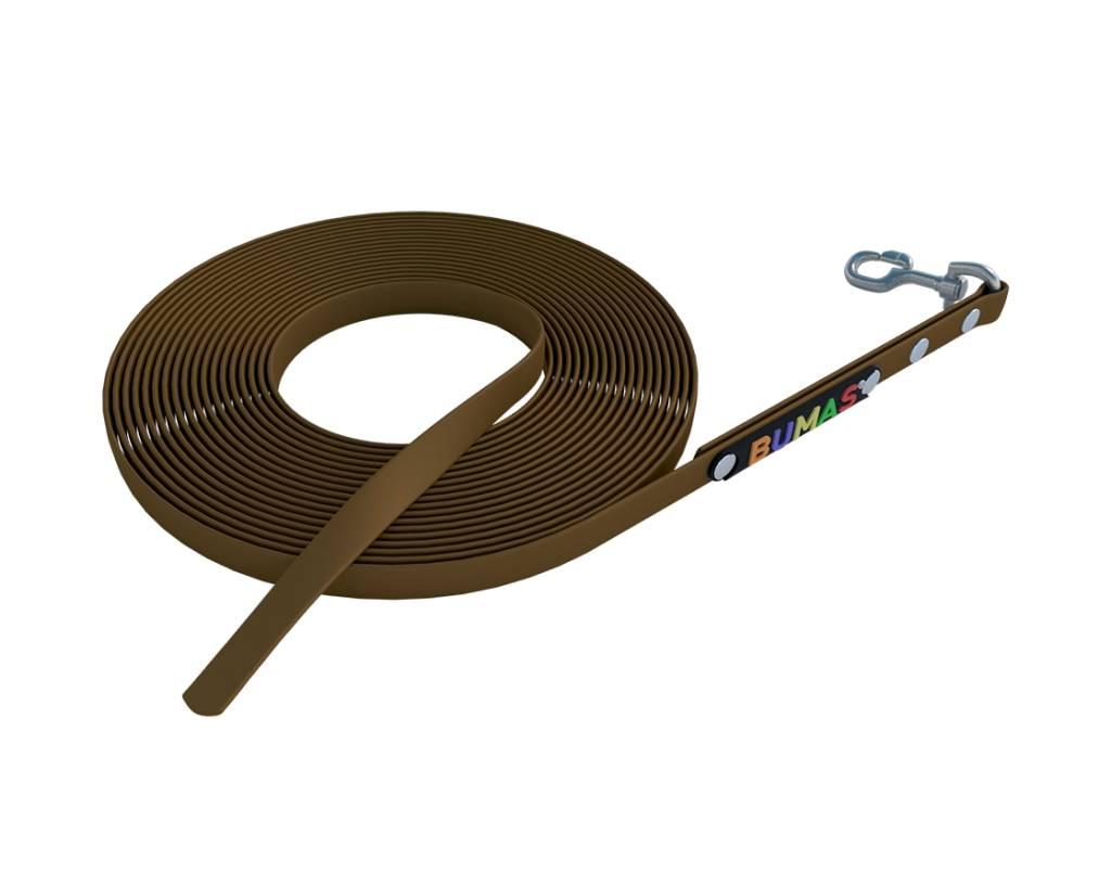 BUMAS - das Original. BUMAS – sport – looplijn van BioThane® en bruin