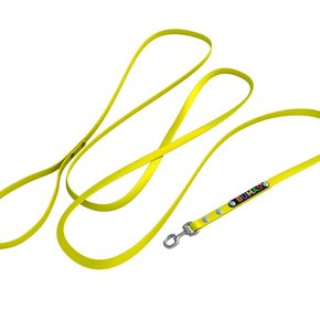 BUMAS hondenriem neon geel