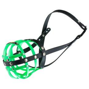 BUMAS muzzle Size 9, neon green/black