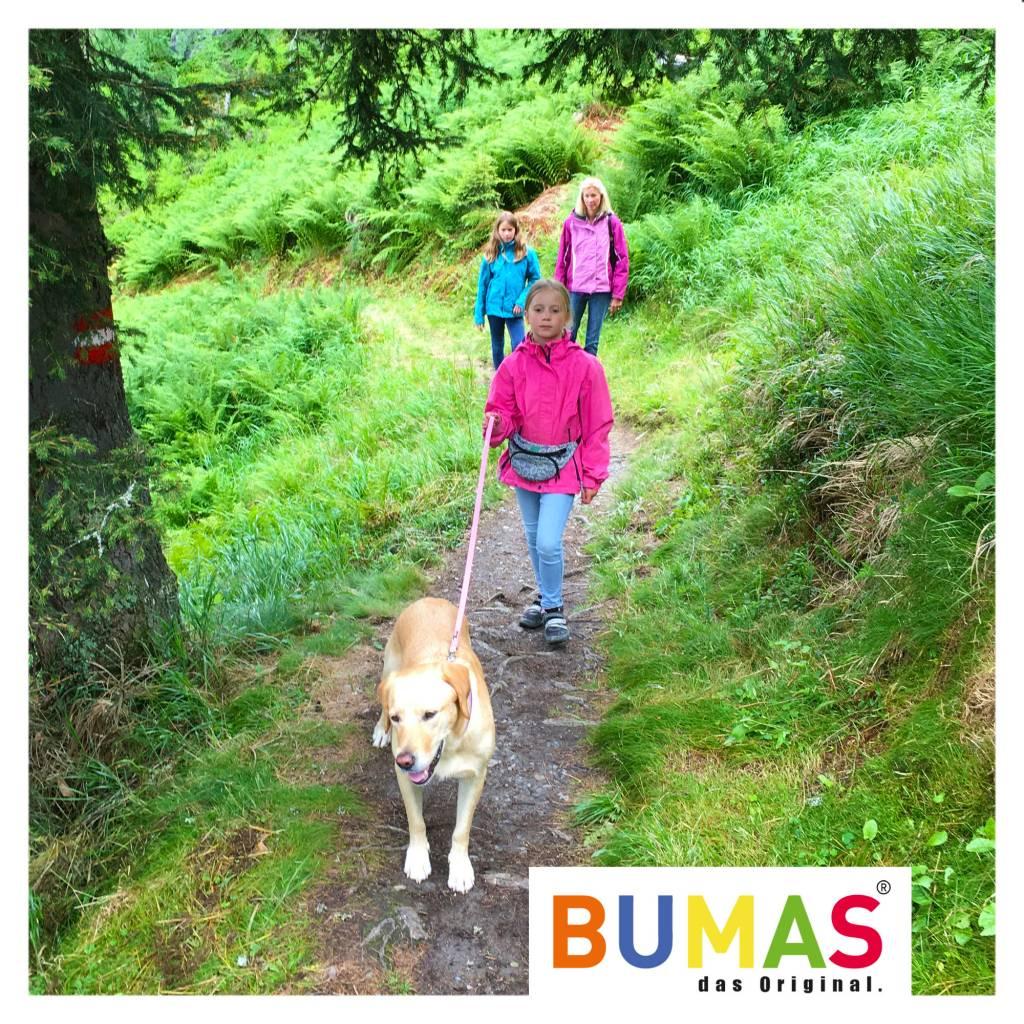 BUMAS - das Original. BUMAS - easy going - leash made of BioThane® in pink