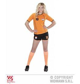 Oranje pak supporter Nederlands elftal