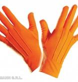 Oranje handschoenen