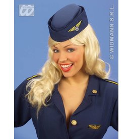 Toppers-accessoires: stewardessenhoedje