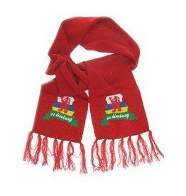 Sjaal rood + wapen limburg