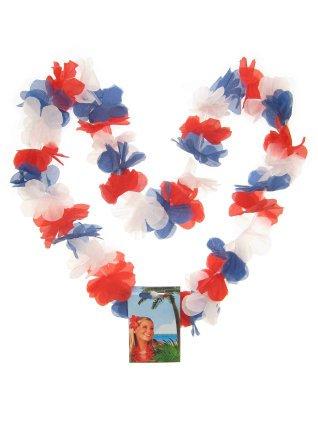Hawaiislinger rood/wit/blauw