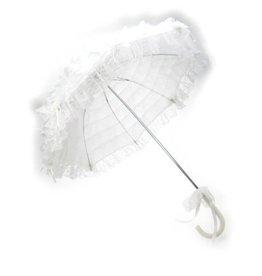 Paraplu wit deluxe