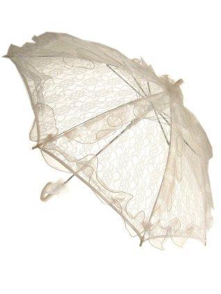 Bydemeyer paraplu wit groot scherm