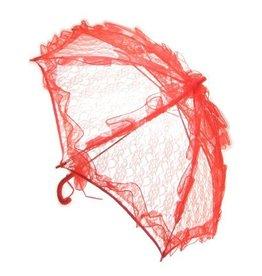 Paraplu rood groot scherm