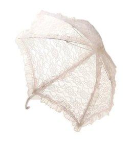 Paraplu wit klein