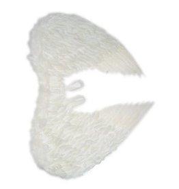 Vleugels wit veren 60x75cm