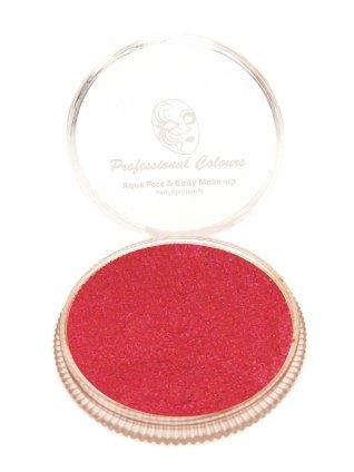 Aqua schmink metallic rood 30 gram