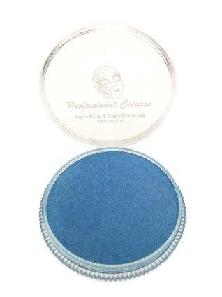 Aqua schmink metallic blauw 30 gram