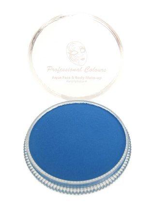 Aqua neon waterverf blauw 30 gram