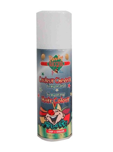 Haarspray wit 125 ml