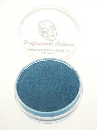 Aquaschmink pearly color hemelsblauw 10 gram