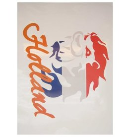 Holland leeuw rood/wi/blauw oranje