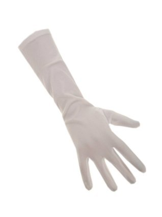 Handschoenen stretch wit nylon