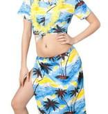Hawaii set blauw