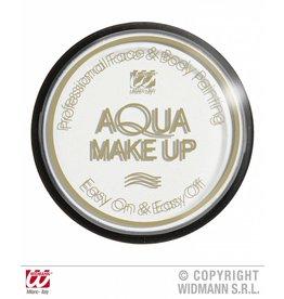 Aqua schmink wit