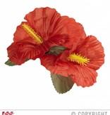 Haarklem bloem Hibiscus