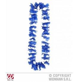 Blauwe hawaiikrans