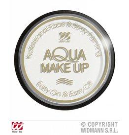 Witte aqua schmink 30 gram