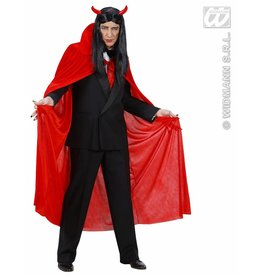 Rode cape fluweel