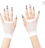 Handschoennen vingerloos wit