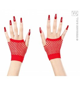 Handschoenen rood vingerloos