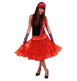 Petticoat rood