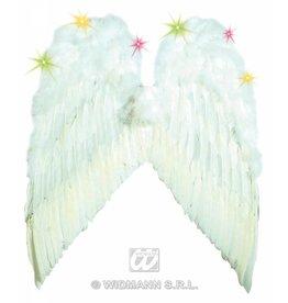 Witte vleugels 55x48cm