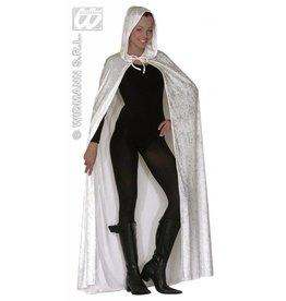 Luxe witte cape 150cm