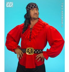 Piratenshirt rood