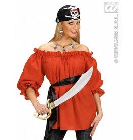 Piratenshirt rood Lotte