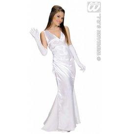 Kostuum beroemdheid wit