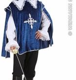 Blauwe musketier