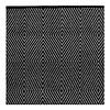 Black & White Recycled Cotton Rug Zen