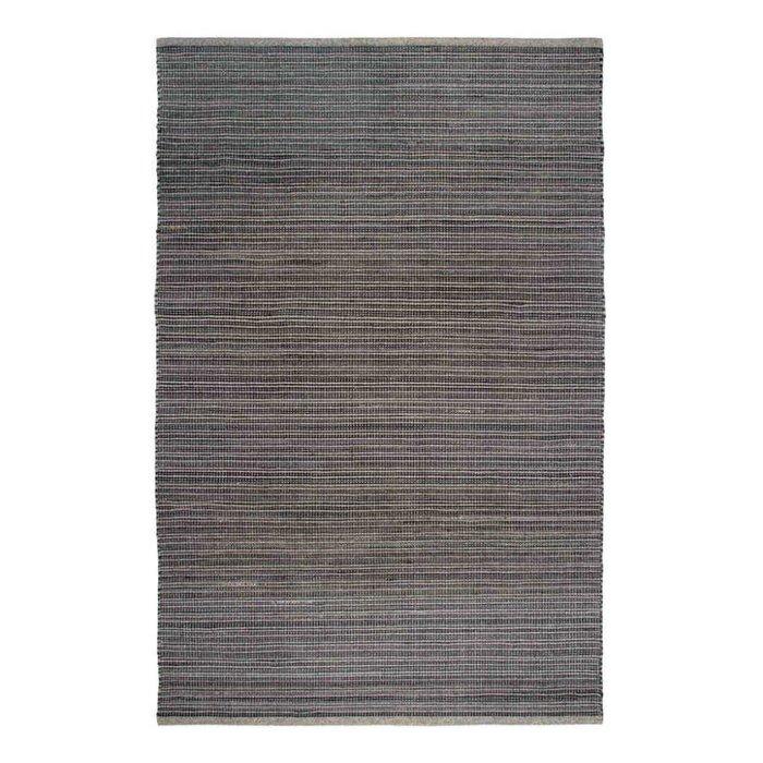 Recycelter grauer Teppich Kismet