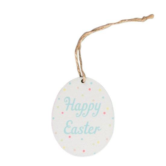 Polka Dot Hanging Decoration Easter Egg