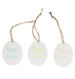 Polka Dot Hanging Decoration Easter Egg