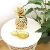Goldene Ananas Spardose
