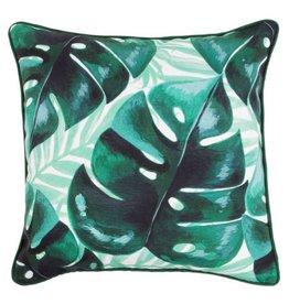 Tropische Palmenblätter Kissen