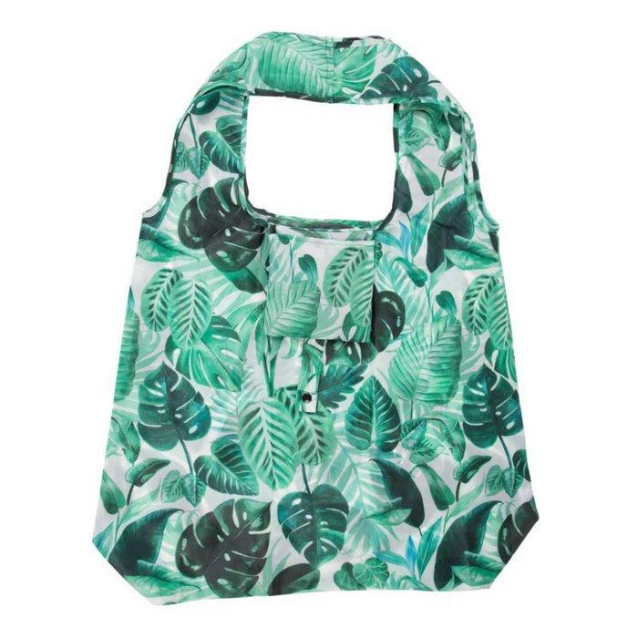 Faltbare Einkaufstasche mit Palmenblättern