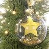 Sleeping Gold Star Bauble 'Sweet Dreams'