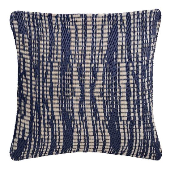 Dark Blue Outdoor Cushion Brooklyn