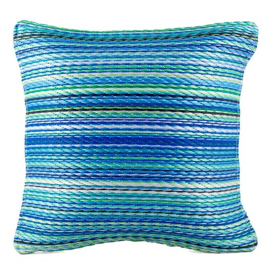 Turquoise Green Outdoor Cushion Cancún